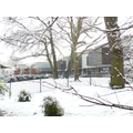 KS1 playground in the snow
