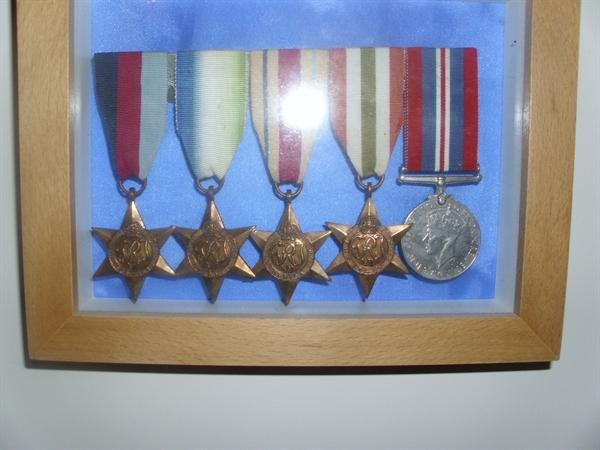 World War Two Campaign Medals