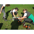 Planting our Marie Curie Daffodils 2014