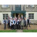 Class 3 in full dress as WW1 School children