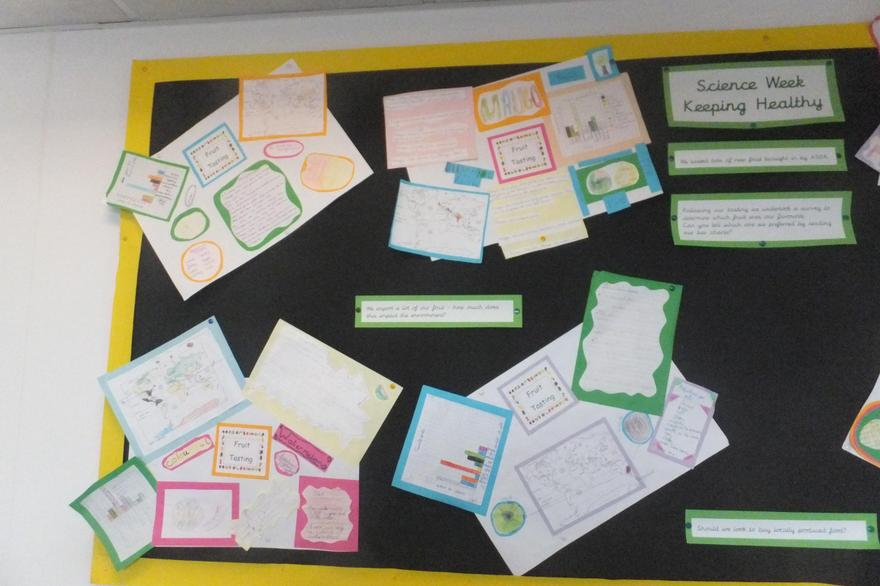Outcomes across the curriculum from a themed week