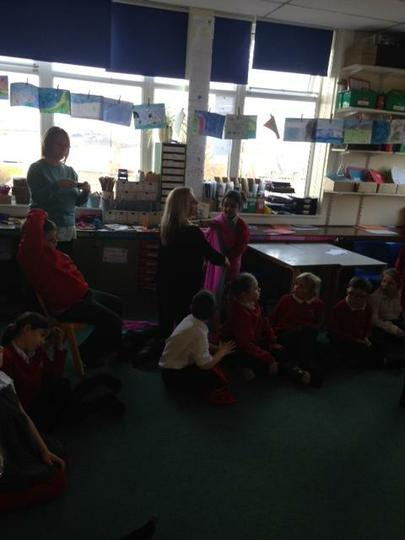 Putting on a sari is tricky Miss Bowers!