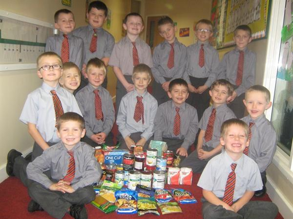 Many thanks to all the parents who sent in food.
