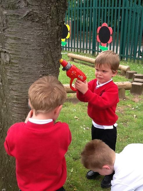 'Fixing' the trees!