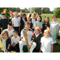 4C with the Olympic Torch