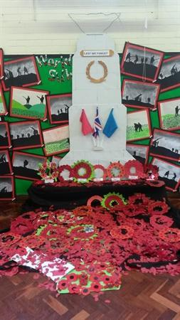 Our Remembrance Service