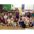 Guide Dogs visit Class 1.