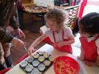 Making wedding cakes