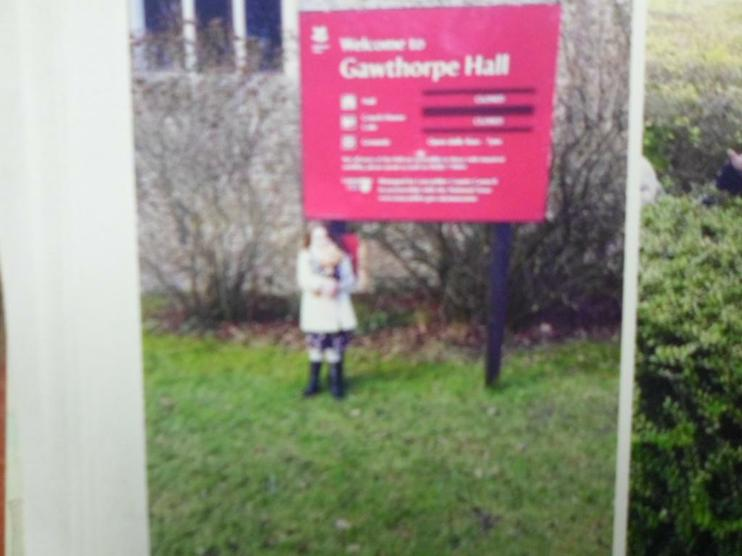 Jofli went to Gawthorpe Hall.