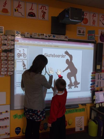 How do we make a silhouette?