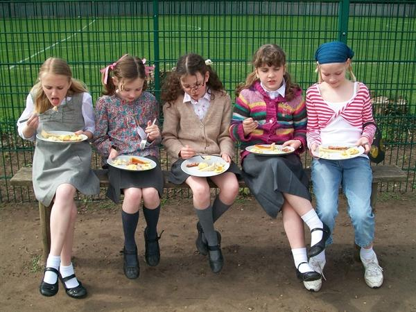 VE Day - Ration Food. Yuck and Yum!