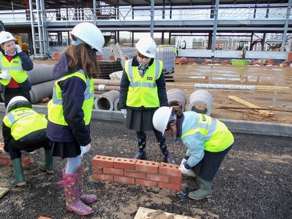 Visit to Siemens' Construction Site