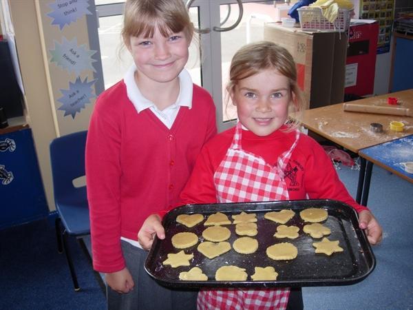 We enjoyed our Scottish shortbread