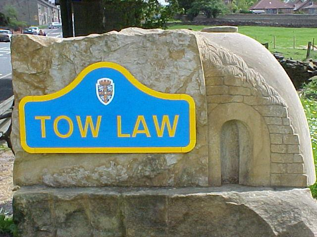 Tow Law Sculpture