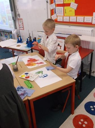 Magical colour mixing