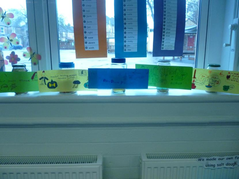 Our finished magical potions!