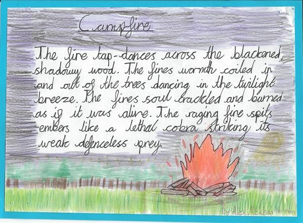 Personification in Miss M's Literacy Group