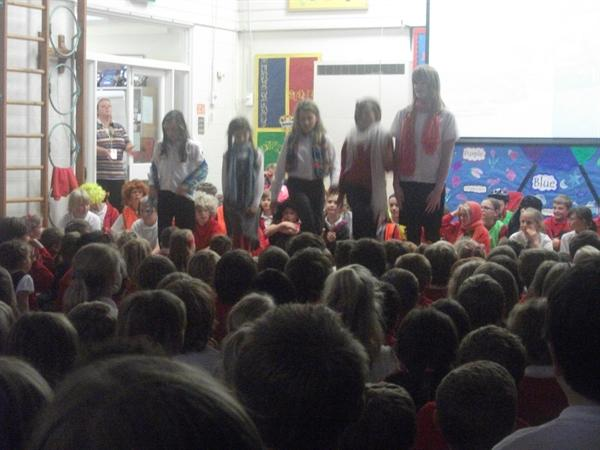 Year 6 Play in a day Assembly