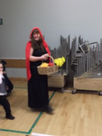 Belle and Red Riding Hood came to our Ball