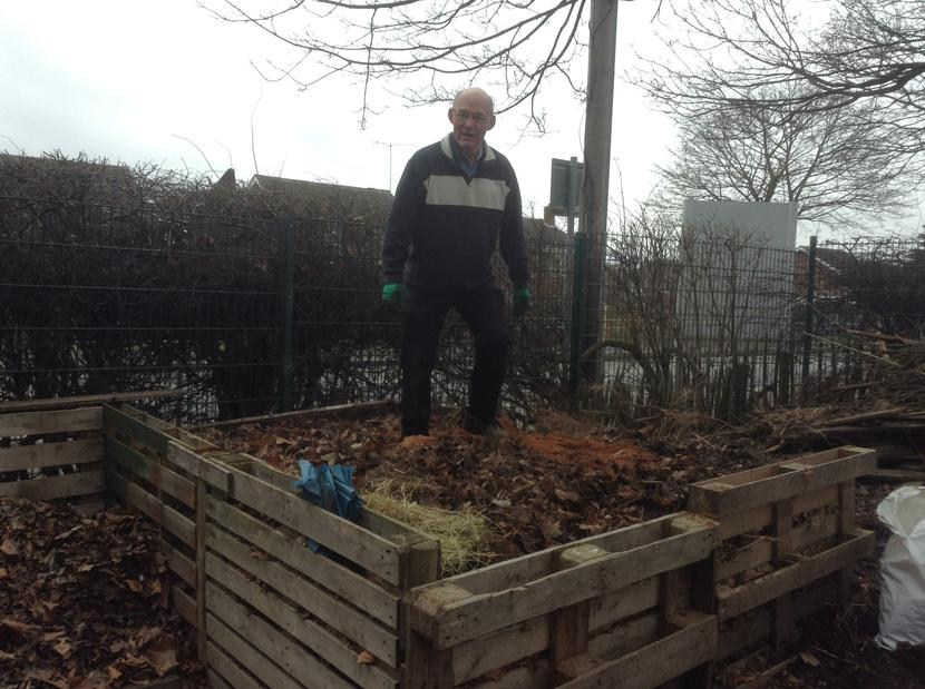Mr P - King of the compost heap!