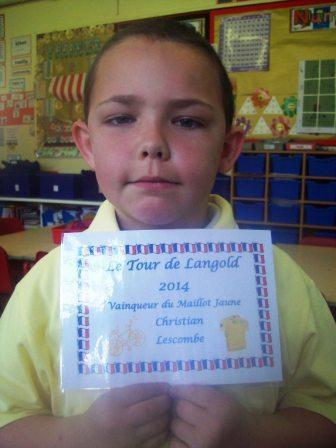 Vainqueur du Maillot Jaune