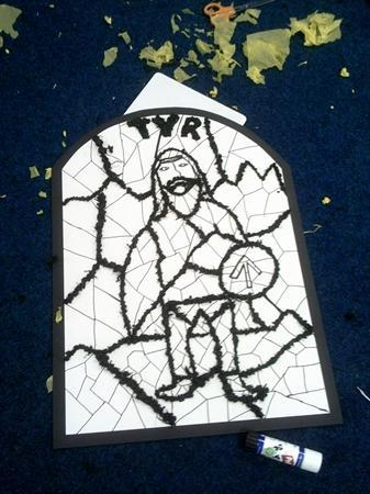 Viking Art: Tyr