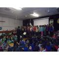 The choir were amazing!