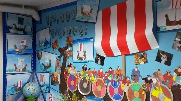 Our Viking Display
