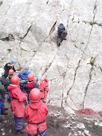 Rock Climbing near Snowdon