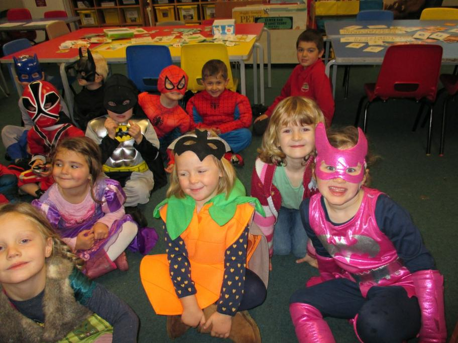 We raised lots of money for children in need