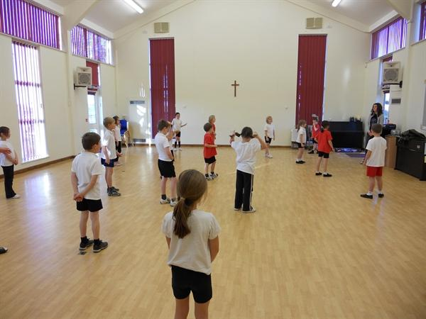 We are enjoying our dance sessions on Mondays!