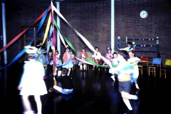 Maypole Dancing - 1966