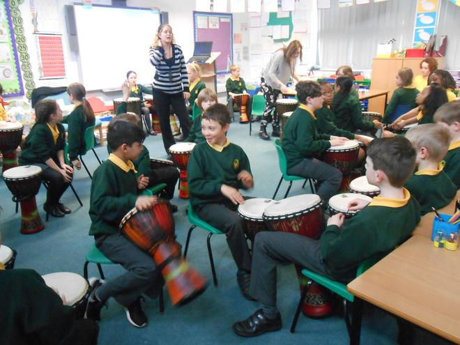 South African drumming