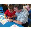 Dads & Grandads invited into school