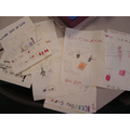 Year 2 made posters.