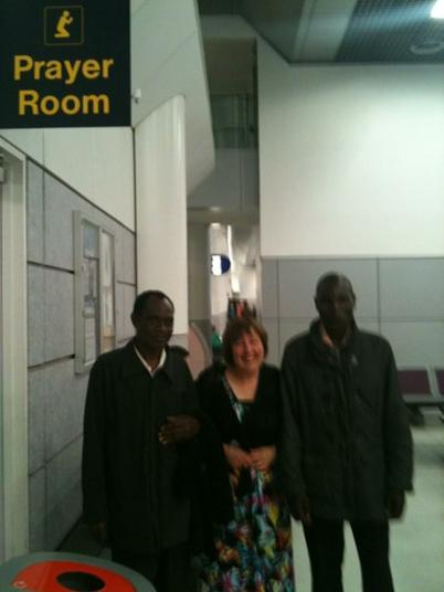 Headteacher Bernard, Mrs. Wilkinson & Deputy Erick