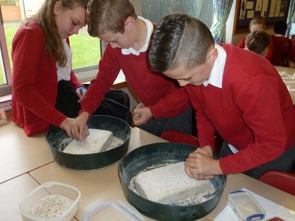 ...to make flour.