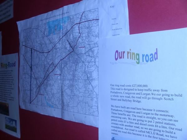 Ring Road Planning Display
