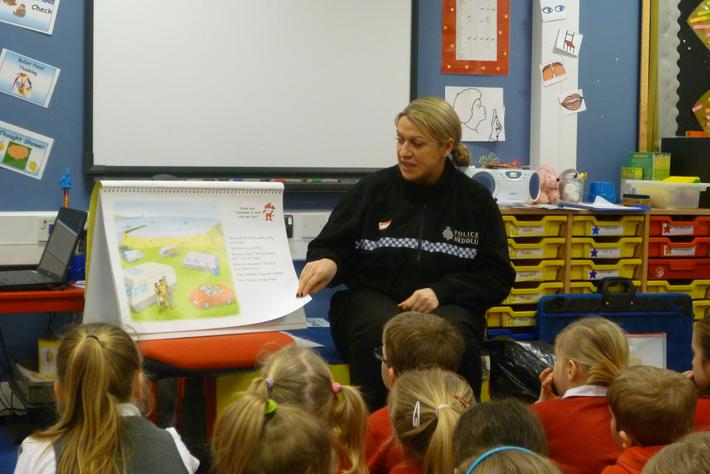 PC Griffiths tells us a story