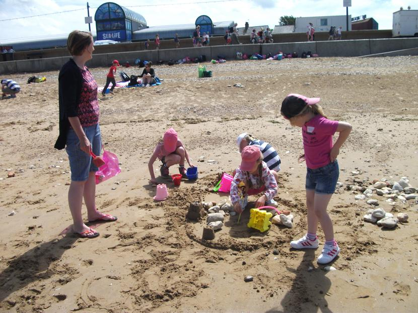 We all worked together.