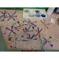 plu eira ffyn loli - lollipop stick snowflakes
