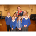 A group of high achievers in PE with Jo Jackson