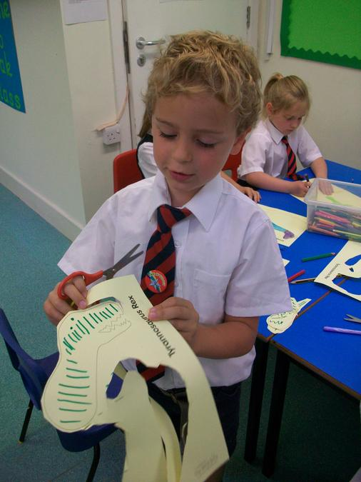 Fantastic cutting skills- well done!