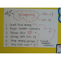This term's Maths targets are related to grouping.