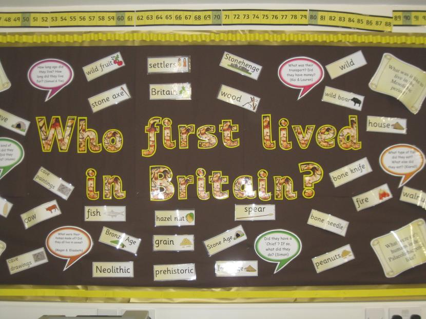 Who First Lived in Britain?