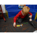 Working with Numicon.