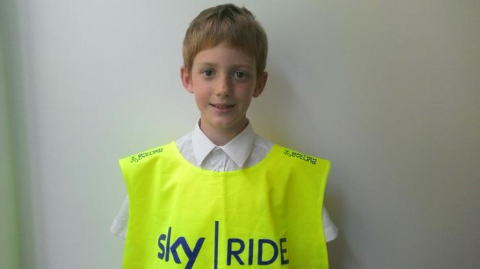 Rory - Took part in the Sky Ride