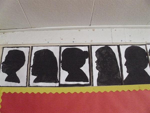 Victorian Silhouettes - Guess Who?
