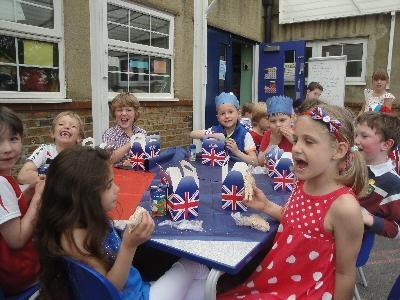 Our Jubilee Lunch