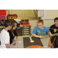 Callum helped Mrs Henderson in Year 5